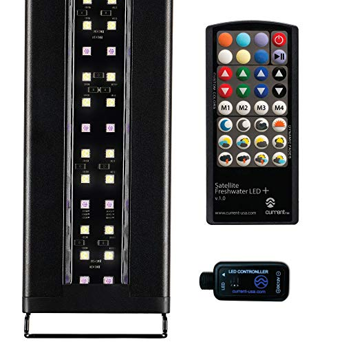 Current USA Satellite Freshwater LED Plus Light for Aquarium, 48 to 60″ by Current USA