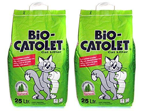 2 x Bio-Catolet | Cat Litter | 25l