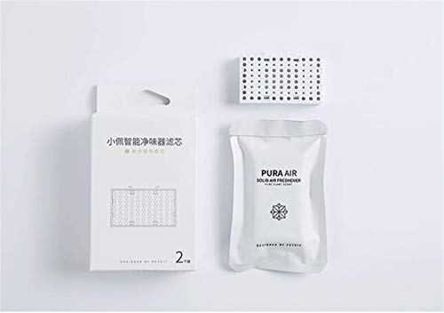 QINGTIAN Désodorisant Intelligent pour Animaux domestiques élimination des odeurs d'urine de Chien litière pour Chat avec capteur Intelligent