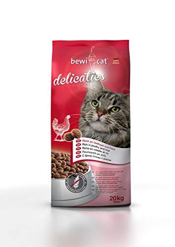 Bewi Cat – Croquettes Delicaties BewiCat Contenance – 20 kg