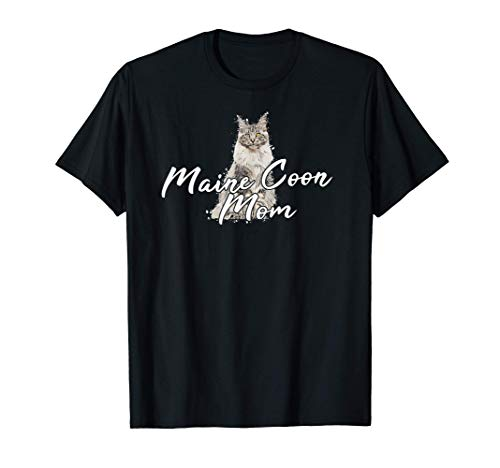 Maine Coon Chat Chaton Chaton Maine Coon Maine Coon Mom T-Shirt