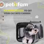 petisfam Grande cage de transport pour chat conçue spécialement pour les chats sensibles.