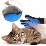 SWAXQ Gant de Toilettage pour Retirer Le Poils d'animaux avec Effet de Massage