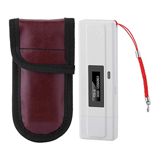 Tangxi Lecteur d'Identité, RFID Lecteur de Poche à Puce avec Écran d'Affichage OLED 134.2kHz USB Interface Lecteur pour Animaux de Compagnie Support FDX-B (ISO11784 / 85) et Puces EMID