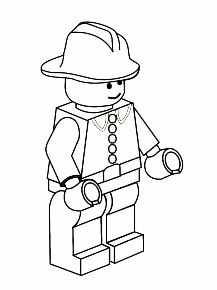 Coloriage LEGO 20 Dessins Imprimer Gratuitement