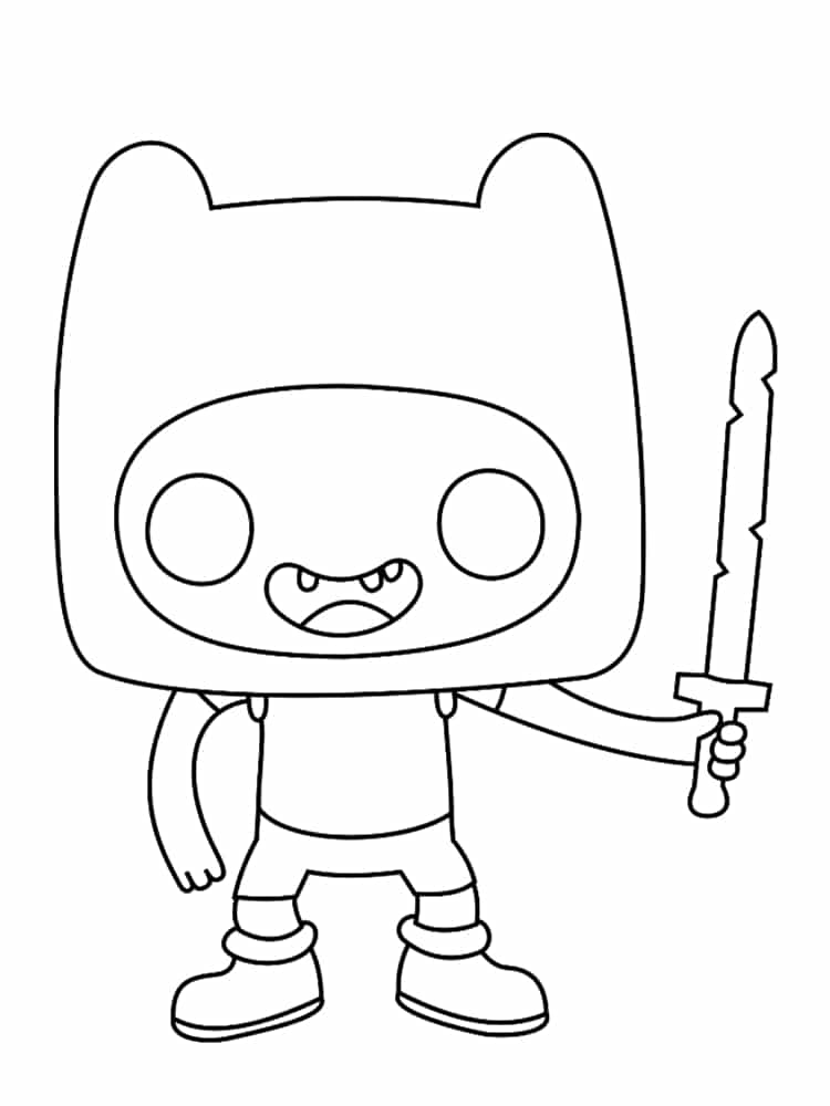 Coloriage Adventure Time 20 Dessins Imprimer