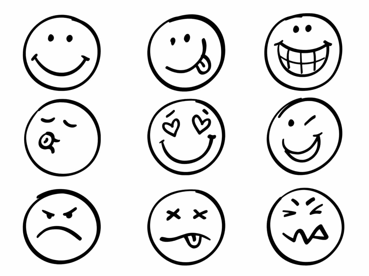 Coloriage Emoji 30 Dessins A Imprimer Gratuitement