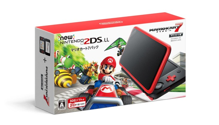 New 2DS XL Mario Kart 7 Edition, jeuxvideo24