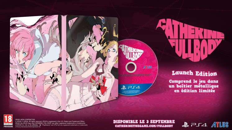 Catherine Full Body édition Steelbook et Collector, jeuxvideo24