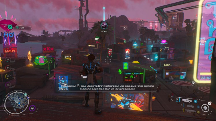 Screenshot Xbox One X de Crackdown 3, jeuxvideo24
