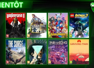 Jeux Xbox Game Pass mai 2019, jeuxvideo24