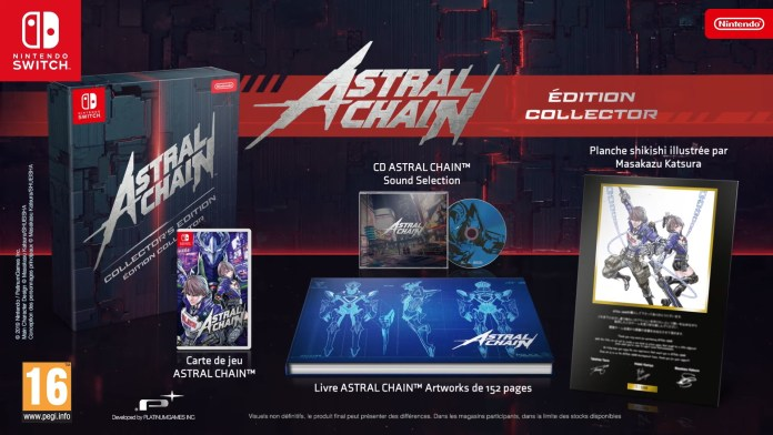 Astral Chain édition collector