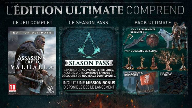 assassin's creed valhalla edition ultimate