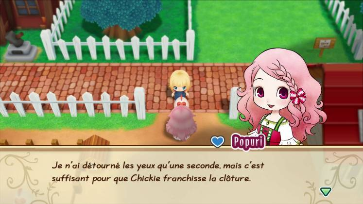 Story Of Seasons Friends Of Mineral Town screenshot FR