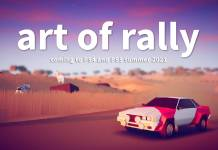 art of rally PS4 PS5 art