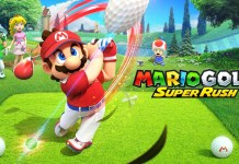 mario golf super rush art