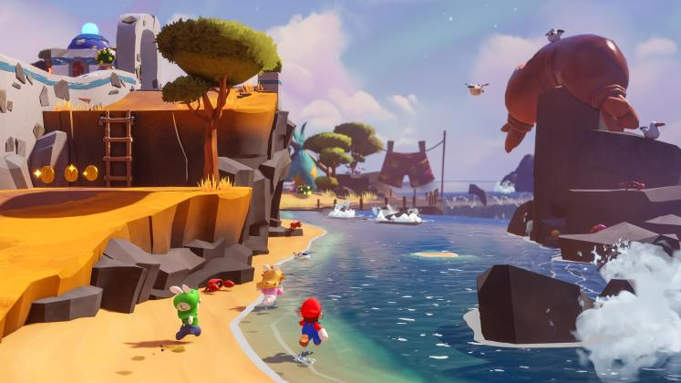 Mario The Lapins Crétins Sparks of Hope screenshot E3 2021