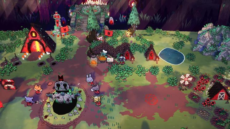 Cult of the Lamb annonce screenshot