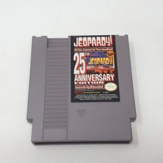 Jeopardy 25th Anniversary NES (Loose)