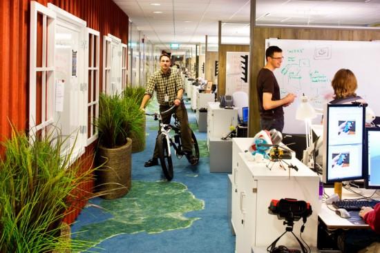 Les Bureaux De Google : Décoration originale des bureaux chez google à tokyo