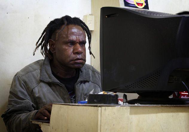escroqueries en ligne datant du Ghana