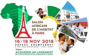 Wand'Event : Salon Africain de l'Habitat à Paris du 16 au 18 novembre 2018