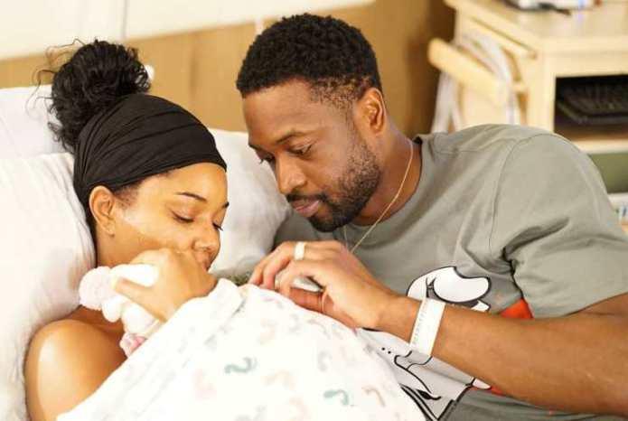 Gabrielle Union et Dwyane Wade annoncent la naissance de leur fille !