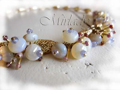 Opals, tanzanite & Spinel