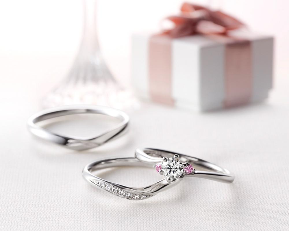 クワンドゥマリアージュ婚約指輪