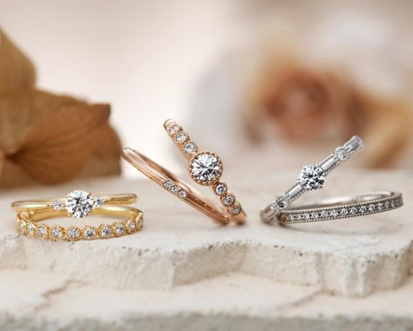 アンティーク調結婚指輪