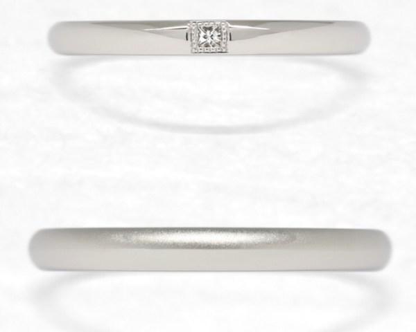 「ひな」ご結婚指輪をご紹介💗