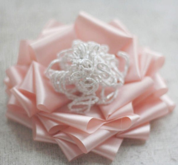 Create flowers from ribbon fabric with the Anna Sophia Tutorial