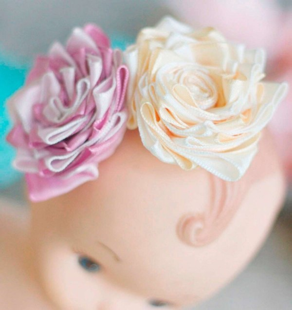 How to make a fabric flower without sewing | Anna Sophia Tutorial