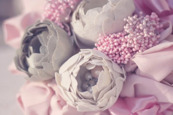 Ranunculus Fabric Flower Tutorial Pattern for making diy bouquets and flower fascinators.