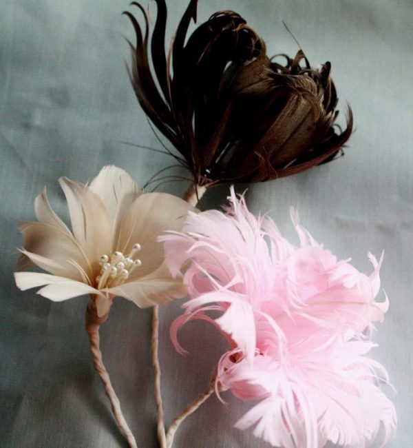 How to make feather flowers for wedding bouquets | A Jewel Box Ballerina Tutorial