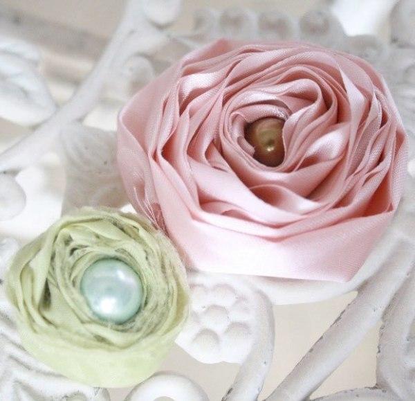 Cute Fabric Flower Tutorial | Ranunculus Rose