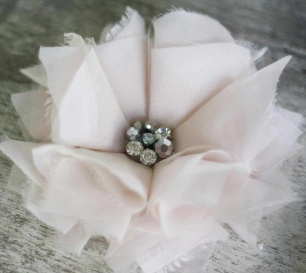 How to make fabric flowers for hair fascinators and diy wedding bouquets | Carnation Tutorial