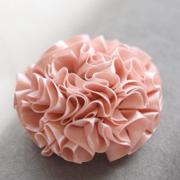 Advanced Fabric Flower Tutorial | Ruffled Blossom