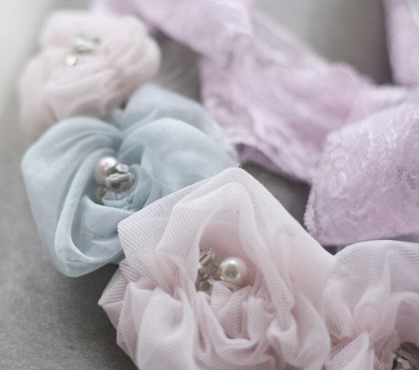 Making Flowers from Fabric | Ruched Rosette Tutorial