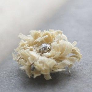 How to make no sew fabric flowers | Chrysanthemum Tutorial