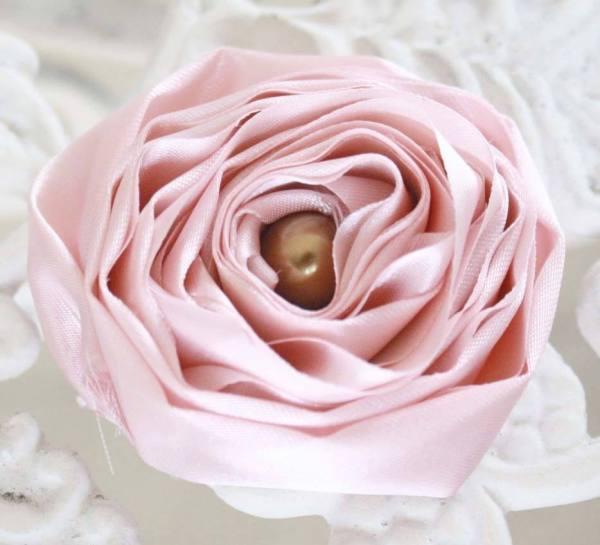 Making Flower with Fabric | Ranunculus Rose Tutorial