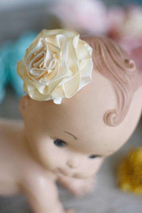 fabric flower tutorial summer amelie