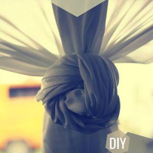 drapery diy wedding curtain idea