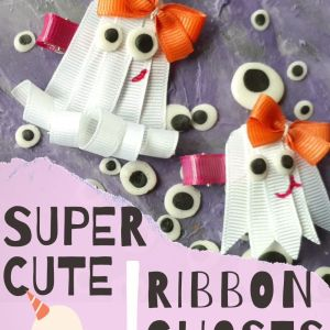 How to make ghost hair bows