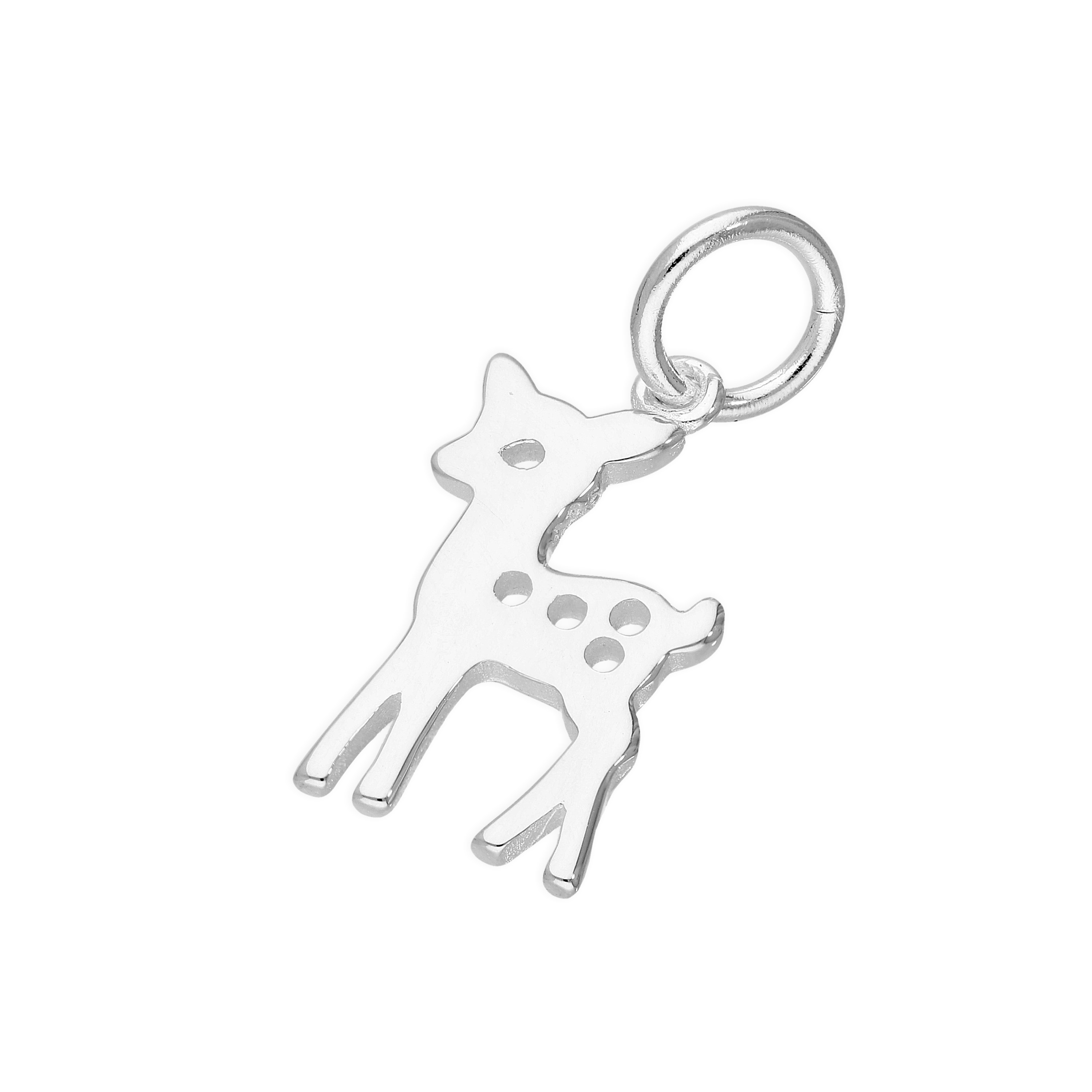 Real 925 Sterling Silver Northern Star Nativity Clip On