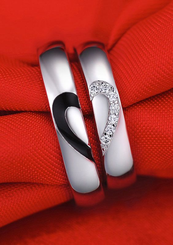 See 26 Absolutely Beautiful Couple Rings Amp Bands Designs