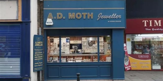 AD Moth Jewellers has closed after 23 years