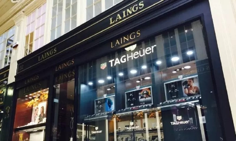 532a8cf6108 Laings opens Tag Heuer 'shop-in-shop' concept | Post