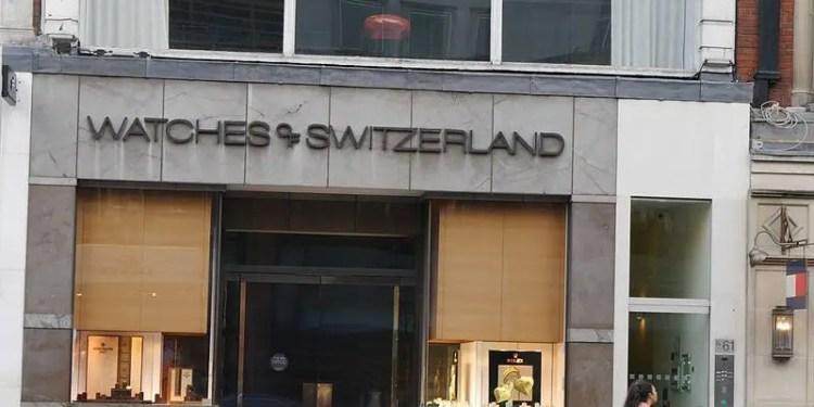 Watches of switzerland ipo price range