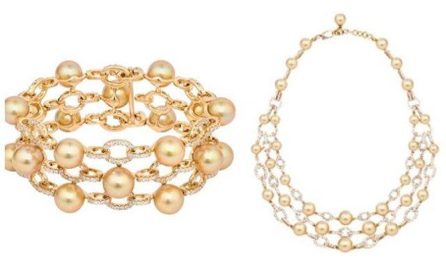 hodel-South Sea golden pearls